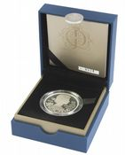 2012 Silver Proof Piedfort £5 Diamond Jubliee